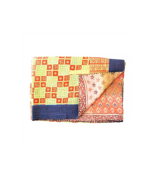 The Loaded Trunk Vintage Kantha Throw No. 5
