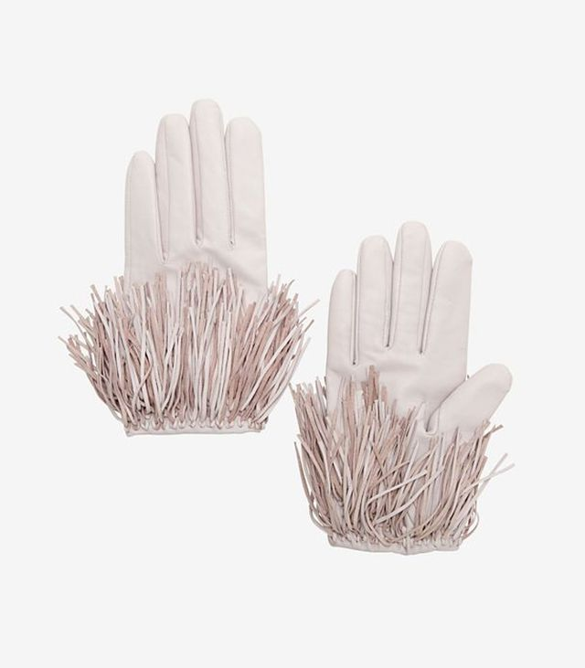 Exclusive for Intermix Fringe Gloves