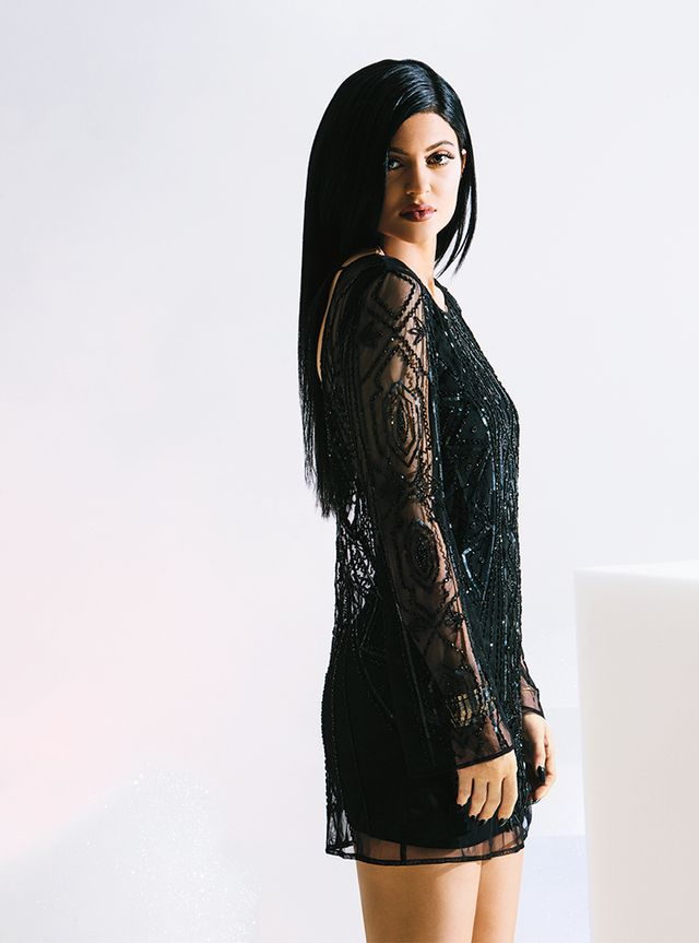 Kendall & Kylie for PacSun Beaded Low Back Dress