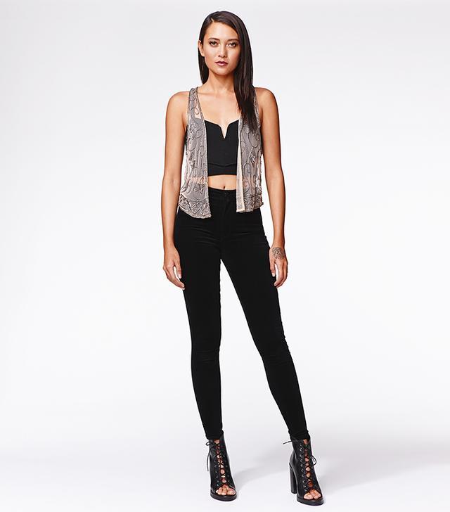 Kendall & Kylie for PacSun Embellished Vest