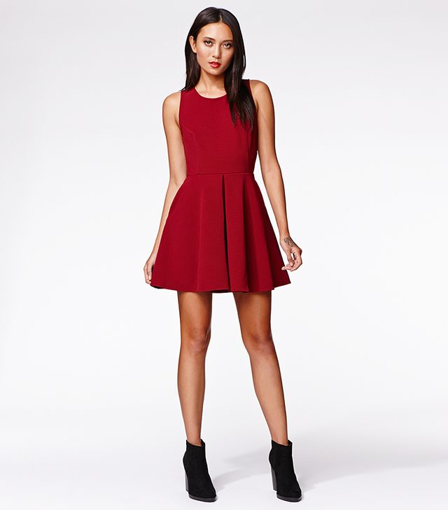 Kendall & Kylie for PacSun Open Back Fit-N-Flare Dress