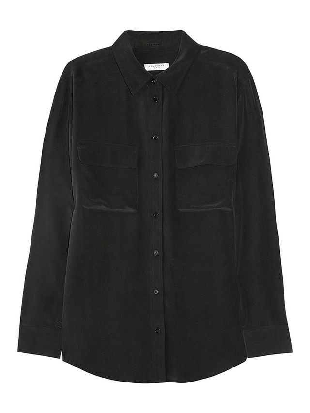Equipment Signature Washed-Silk Shirt