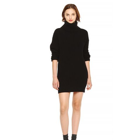Shaker Knit Sweater Dress