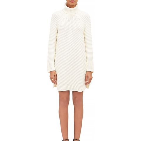 Chunky-Knit Sweater Dress