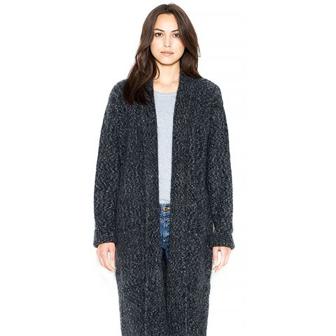 Mohair Knitted Coat
