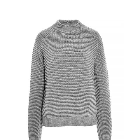 Chunky Ribbed Wool Sweater