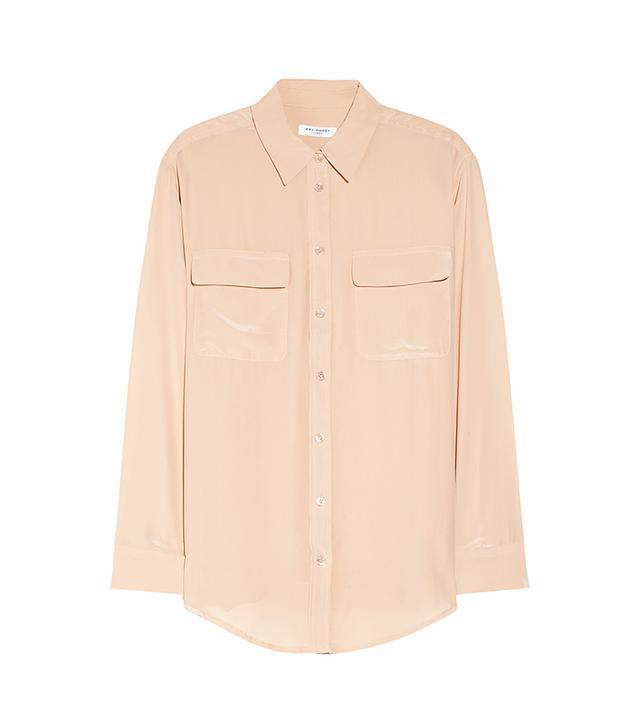 Equipment Signature Washed Silk Shirt