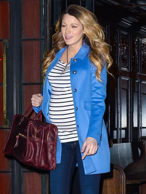 We Can't Get Enough Of Blake Lively's Chic Maternity Style