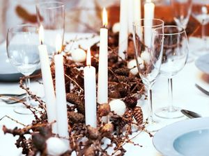 Last-Minute Ideas for a Stylish Christmas Tabletop