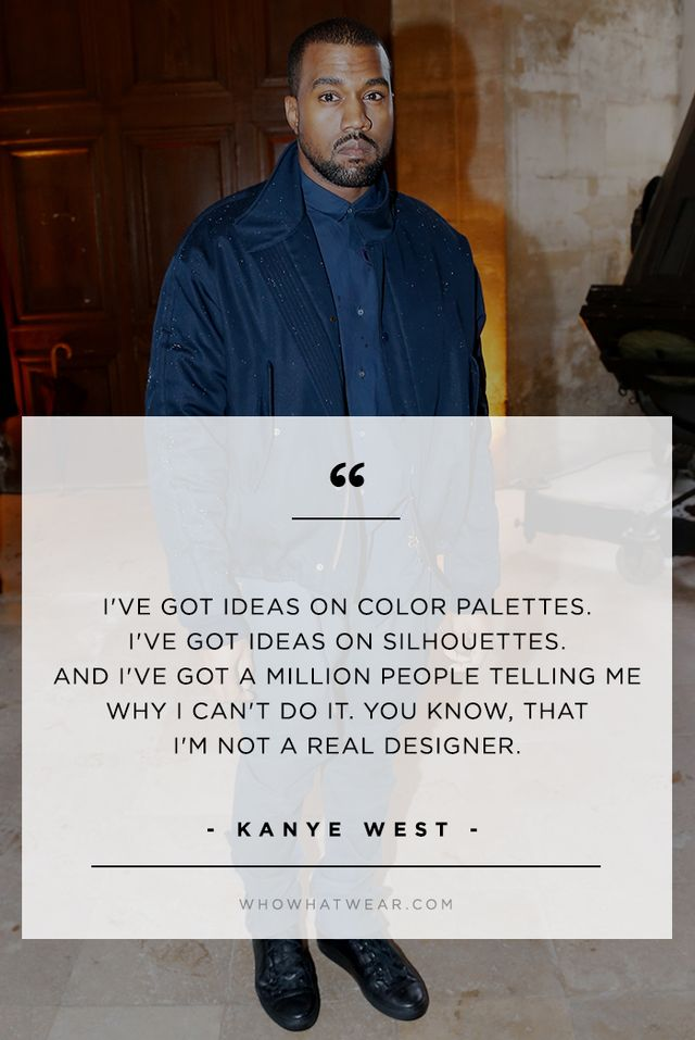 Kanye West on haters hating on his fashion design chops from his BBC interview with Zane Lowe.