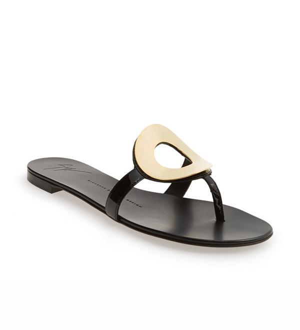 Giuseppe Zanotti Nuvorock Leather Sandal
