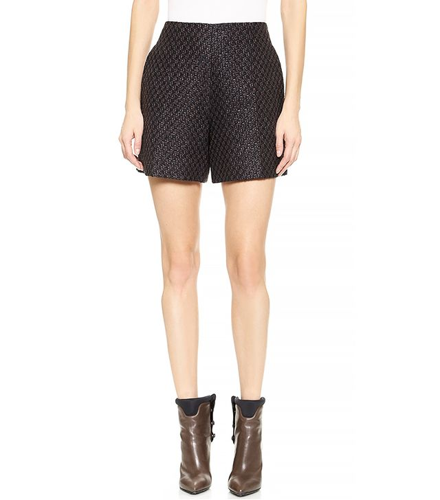 Carven Fancy Tweed Short