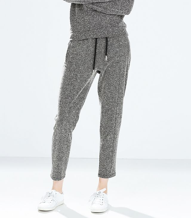 Zara Tweed Jogger