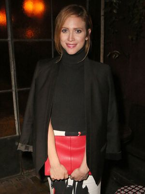 Going To a Holiday Work Party? Follow Brittany Snow's Stylish Lead