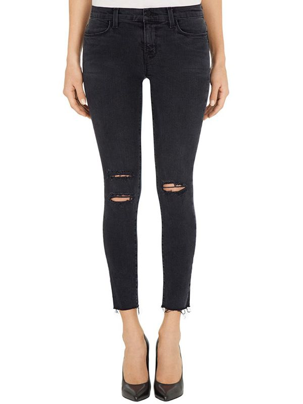 J Brand Photo Ready Cropped Skinny Jeans