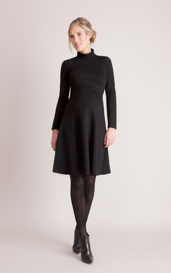 Séraphine Black Turtleneck Vanessa Dress