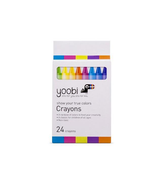 Yoobi 24 Multicolor Crayons