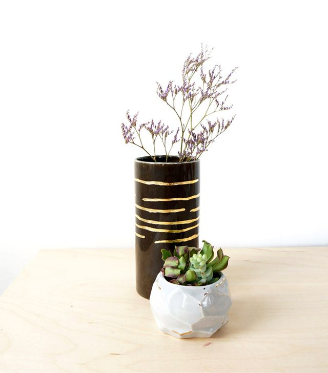 The Object Enthusiast Espresso Cylinder Vase