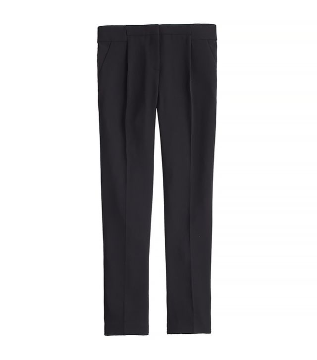 J.Crew Pleated Crepe Pants