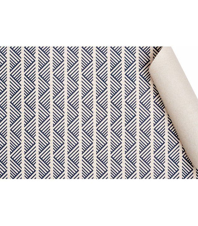 Smock Paper Navy Tweed Gift Wrap Sheets (Set of 4)