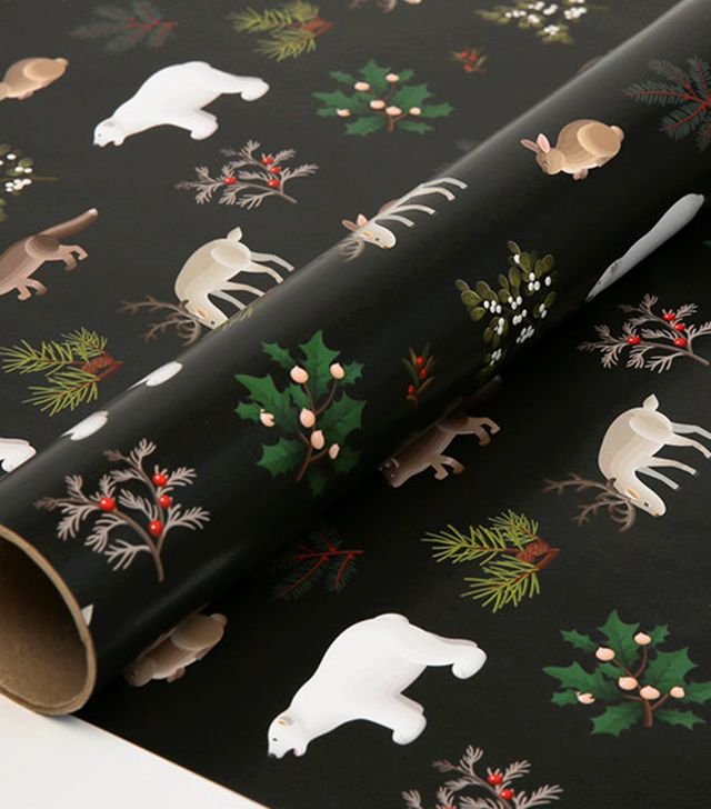 Clap Clap Design Holiday Animals Wrapping Paper (Set of 3)
