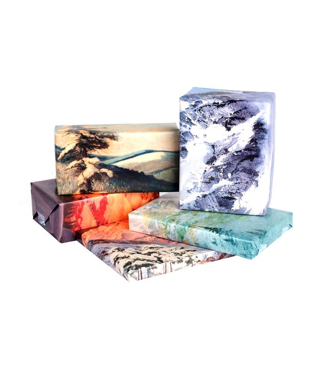 Norman's Printery Mountain Range Wrapping Paper (Set of 12)