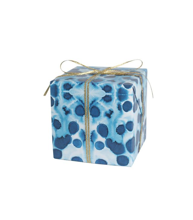 Sycamore Street Press Indigo Spots Gift Wrap