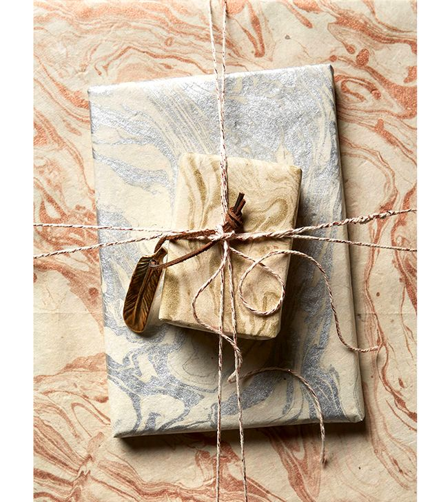 Anthropologie Marbled Wrapping Paper (Set of 3)