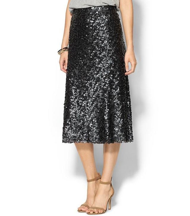 Sabine Midi Sequin Skirt