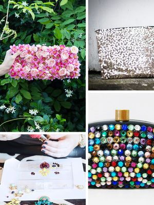 DIY: Embellished Festive Clutch