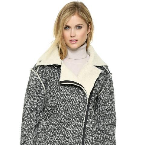 Herringbone Mustang Jacket