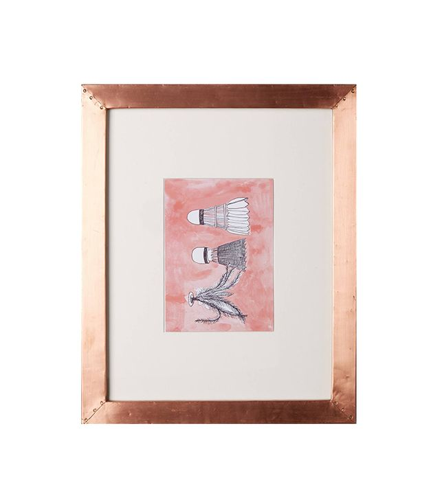 Anthropologie Copper Gallery Frame