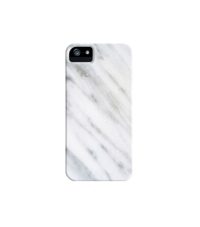 Society6 Carrara Italian Marble iPhone Case