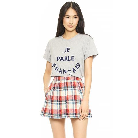 Cecile Je Parle Francais Oversized T-Shirt
