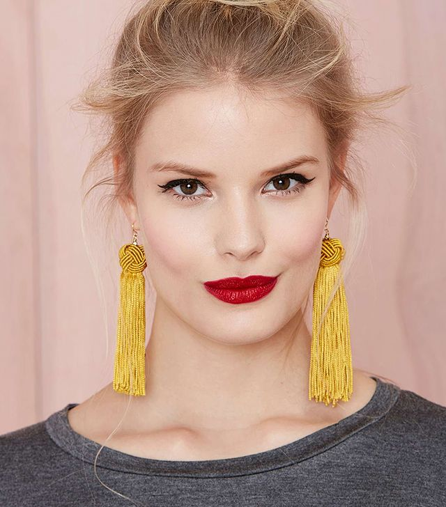 Vanessa Mooney Astrid Tassel Earrings