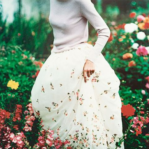 30. Dress down a ball gown skirt with a knit sweater.