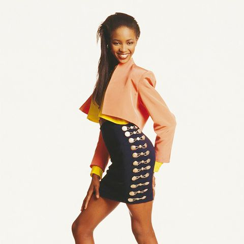 45. Wear a crop top without showing too much skin by pairing it with a pencil skirt.