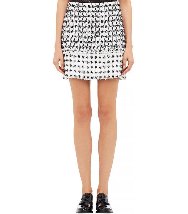 Erdem Dotted Tweed Mari Miniskirt