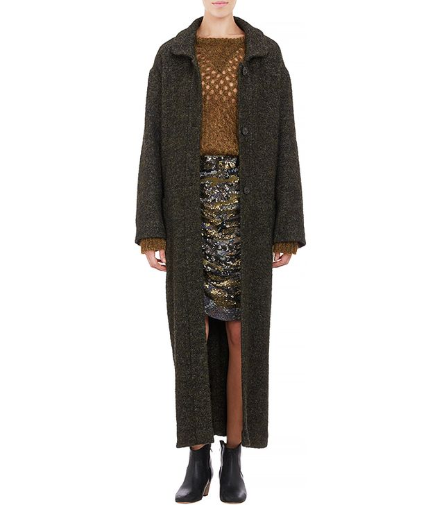 Isabel Marant Tweed Oversize Evana Coat