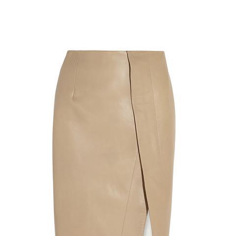 Kay Leather Skirt