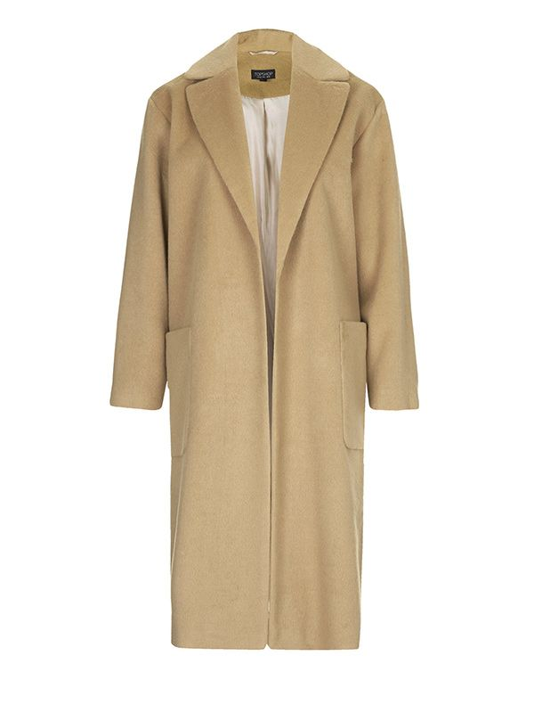 Topshop Longline Throw On Coat