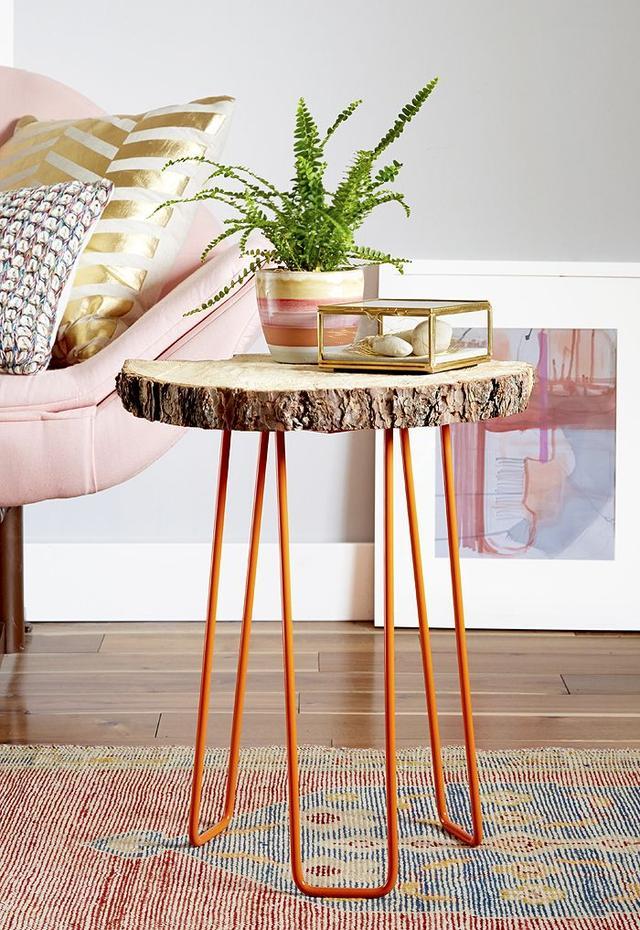 DIY Tree Slab Table