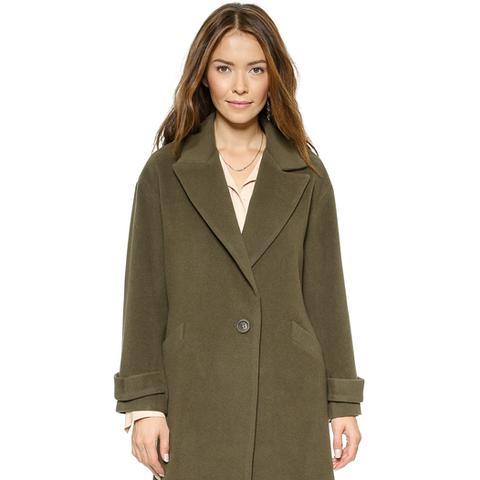 Oversized Maxi Coat