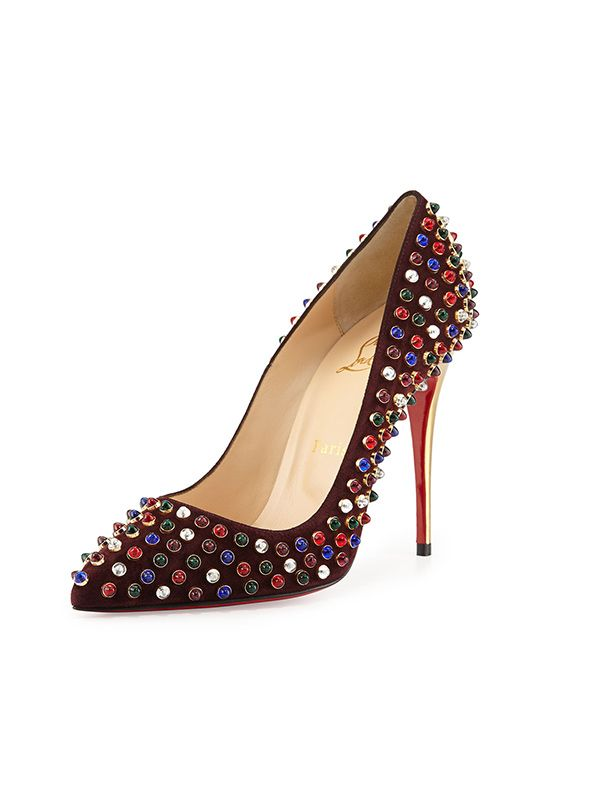 Christian Louboutin Follies Cabo Suede Pumps