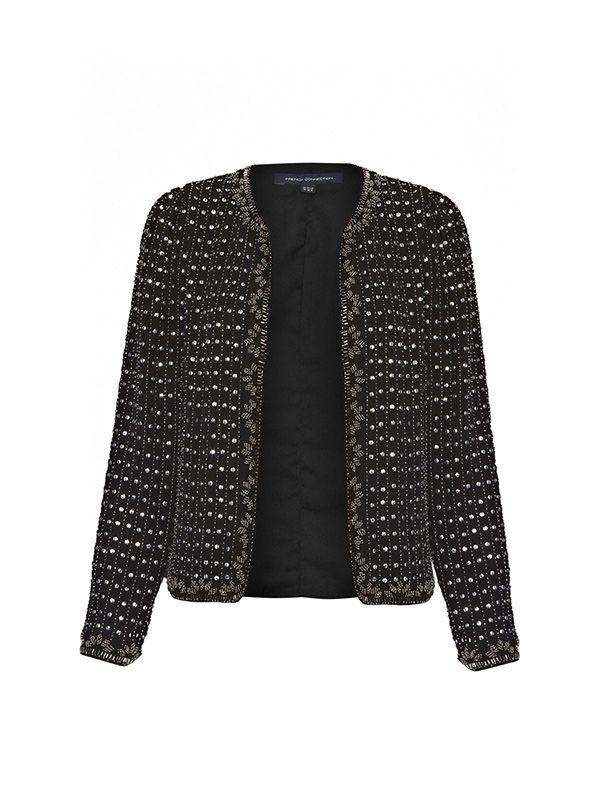 French Connection La Boheme Embellished Jacket