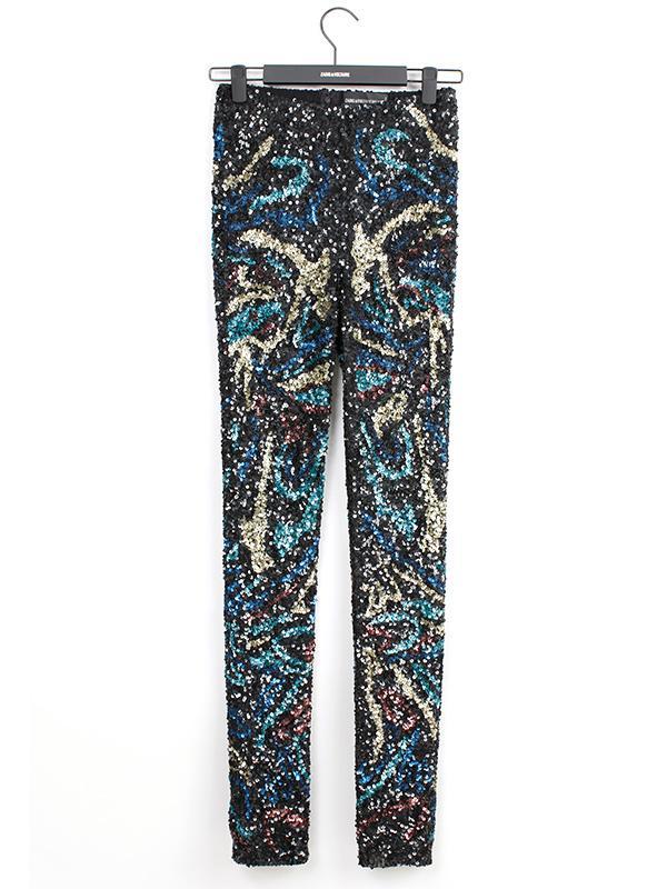 Zadig & Voltaire Pharell Sequins Deluxe Pants