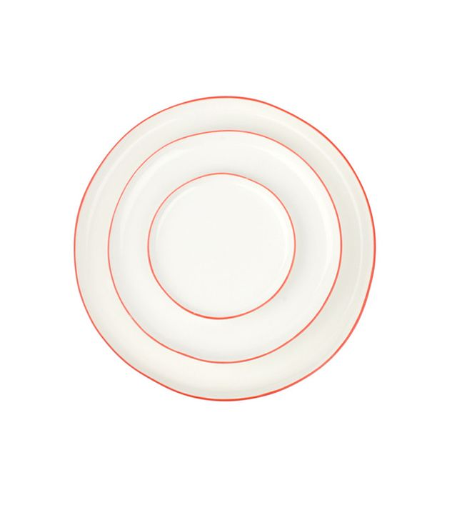 Coming Soon Hand-Glazed Porcelain Plates