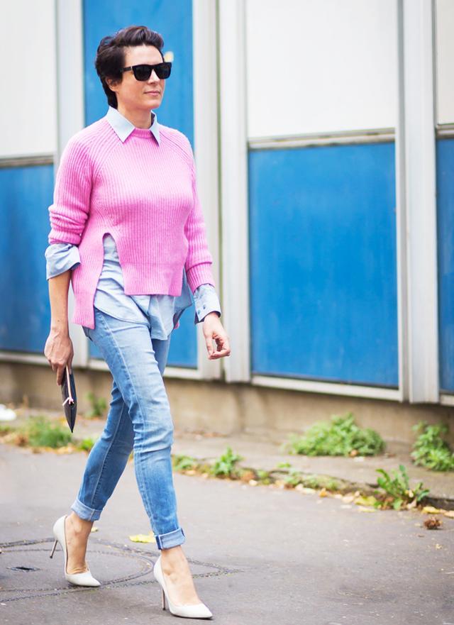 Light-Wash Skinny Jeans