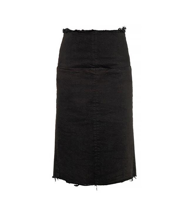 Aries Romford Denim Pencil Skirt