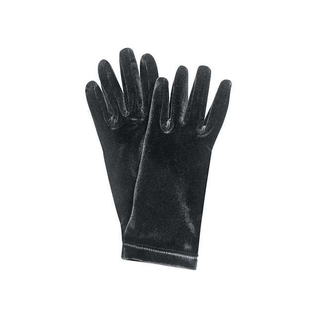 Forzieri Ladies' Solid Velvet Gloves